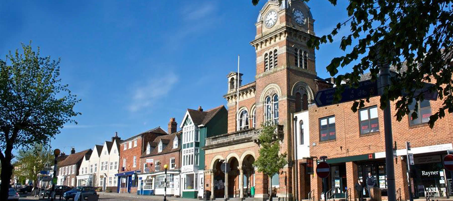 Picture of Town and Manor of Hungerford Building