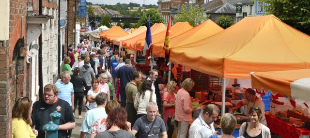 The French Market on Hungerford High Street, Town & Manor