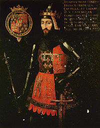 A portrait of John of Gaunt, fourth sone of Richard the Third
